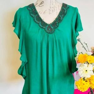 Brand New Cleo blouse with tags  Size Small